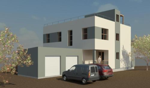 Проект дома от архитектора. Гараж.