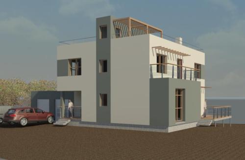 Проект дома от архитектора.  северо запад