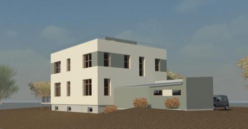 Проект дома от архитектора.  Юго-запад