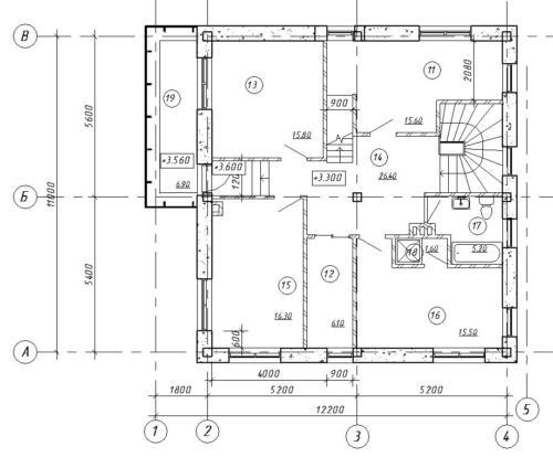Архитектор. Второй этаж.